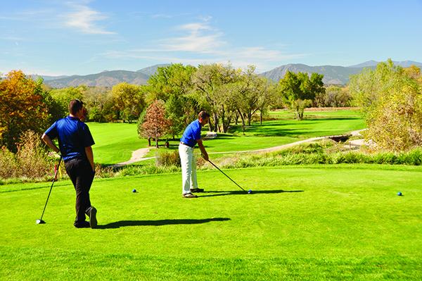 Golfing in Loveland