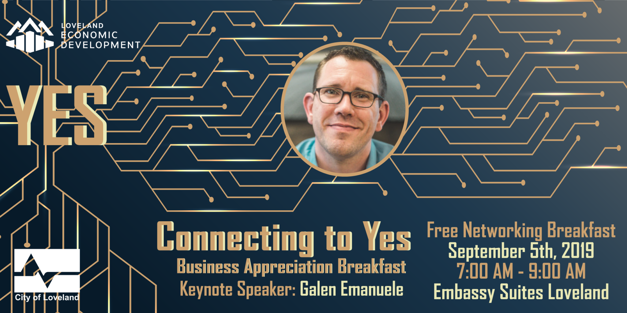 2019 City of Loveland Business Appreciation Breakfast: Connecting to YES!